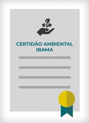 Certidão Ambiental Federal expedida pelo IBAMA