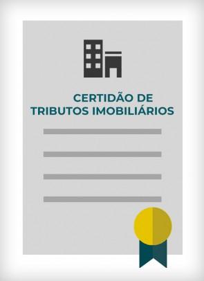 Certidão Negativa de Débitos de Tributos Imobiliários (Cidade de São Paulo)