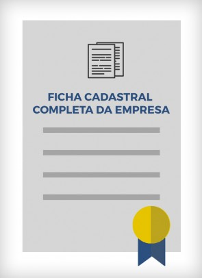 Ficha Cadastral da JUCESP (São Paulo - Estadual)